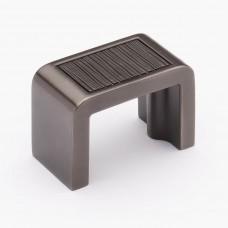 "Brushed Gunmetal 1-3/4"" Metal Cabinet Knob (K-2001-G) by Sietto"