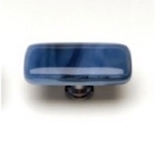 "Cirrus Marine Blue 2"" Glass Cabinet Knob (LK-303) by Sietto"