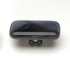 """Cirrus Charcoal Grey 2"""" Glass Cabinet Knob (LK-304) by Sietto"""