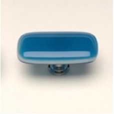 "Intrinsic Turquoise 2"" Glass Cabinet Knob (LK-414) by Sietto"