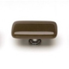 "Intrinsic Woodland Brown 2"" Glass Cabinet Knob (LK-417) by Sietto"
