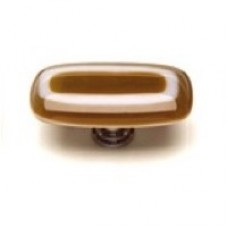 "Luster Umber 2"" Glass Cabinet Knob (LK-607) by Sietto"