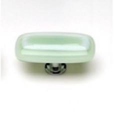 """Luster Grass Green 2"""" Glass Cabinet Knob (LK-611) by Sietto"""