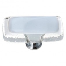 "Reflective Soft Blue 2"" Glass Cabinet Knob (LK-706) by Sietto"