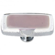 "Reflective Purple 2"" Long Glass Cabinet Knob (LK-718) by Sietto"