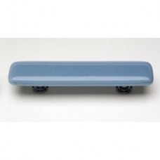 "Intrinsic Powder Blue 3"" CTC Glass Drawer Pull (P-406) by Sietto"