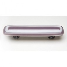 """Luster Lilac 3"""" CTC Glass Drawer Pull (P-604) by Sietto"""