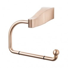 Aqua Bath Tissue Hook - Brushed Bronze (AQ4BB) by Top Knobs