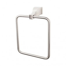 Aqua Bath Towel Ring - Brushed Satin Nickel (AQ5BSN) by Top Knobs