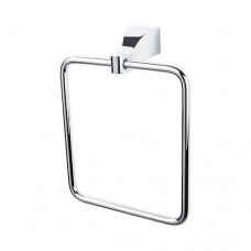 Aqua Bath Towel Ring - Polished Chrome (AQ5PC) by Top Knobs