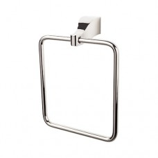 Aqua Bath Towel Ring - Polished Nickel (AQ5PN) by Top Knobs