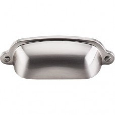 """Cup Bin Pull (2-9/16"""" cc) - Brushed Satin Nickel (M1300) by Top Knobs"""