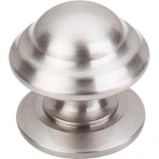 "Empress Cabinet Knob (1-3/8"") - Brushed Satin Nickel (M1323) by Top Knobs"