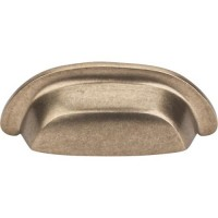 """Cup Bin Pull (3"""" cc) - Light Bronze (M1411) by Top Knobs"""
