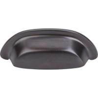 "Cup Bin Pull (3"" cc) - Medium Bronze (M1412) by Top Knobs"