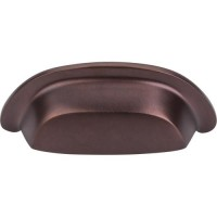 """Cup Bin Pull (3"""" cc) - Mahogany Bronze (M1413) by Top Knobs"""