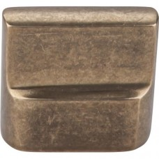 "Flat Sided Cabinet Knob (1-3/8"") - Light Bronze (M1501) by Top Knobs"