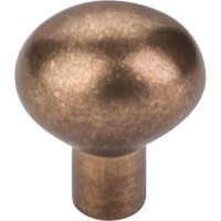 """Egg Cabinet Knob (1-3/16"""") - Light Bronze (M1526) by Top Knobs"""
