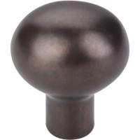 "Egg Cabinet Knob (1-3/16"") - Medium Bronze (M1527) by Top Knobs"