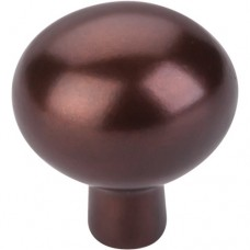 "Egg Cabinet Knob (1-7/16"") - Mahogany Bronze (M1533) by Top Knobs"