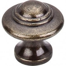"Ascot Cabinet Knob (1-1/4"") - German Bronze (M16) by Top Knobs"