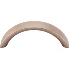"Crescent Drawer Pull (3"" cc) - Brushed Bronze (M1739) by Top Knobs"