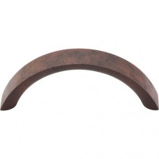 "Crescent Drawer Pull (3"" cc) - Patina Rouge (M1740) by Top Knobs"