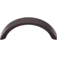 "Crescent Drawer Pull (3"" cc) - Oil Rubbed Bronze (M1741) by Top Knobs"