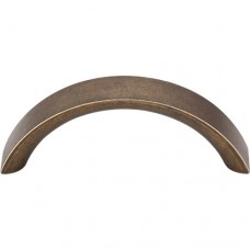 "Crescent Drawer Pull (3"" cc) - German Bronze (M1742) by Top Knobs"