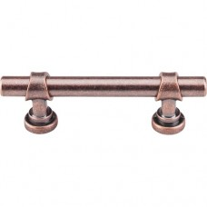 "Bit Drawer Pull (3"" CTC) - Antique Copper (M1746) by Top Knobs"