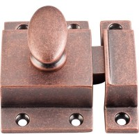 "Cabinet Latch (2"") - Antique Copper (M1782) by Top Knobs"