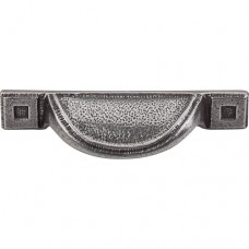 """Cup Bin Pull (2-1/2"""" CTC) - Cast Iron (M1811) by Top Knobs"""