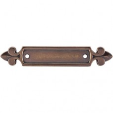 "Dover Pull Backplate (2-1/2"" CTC) - German Bronze (M195) by Top Knobs"