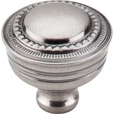 "Contessa Cabinet Knob (1-1/4"") - Pewter Antique (M198) by Top Knobs"