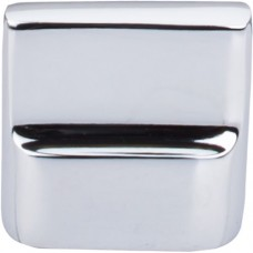 "Flat Sided Cabinet Knob (1-3/8"") - Polished Chrome (M2051) by Top Knobs"