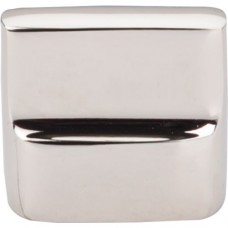 "Flat Sided Cabinet Knob (1-3/8"") - Polished Nickel (M2052) by Top Knobs"