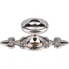 "Canterbury Cabinet Knob (1-1/4"") - Polished Nickel (M2136) by Top Knobs"