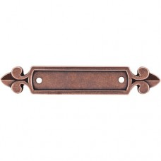 "Dover Pull Backplate (2-1/2"" cc) - Old English Copper (M221) by Top Knobs"