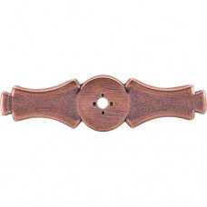 "Celtic Knob Backplate (3-5/8"") - Old English Copper (M224) by Top Knobs"