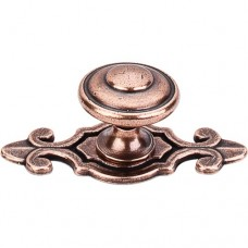 "Canterbury Cabinet Knob (1-1/4"") - Old English Copper (M231) by Top Knobs"