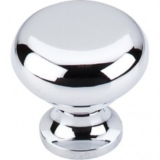 "Flat Faced Cabinet Knob (1-1/4"") - Polished Chrome (M270) by Top Knobs"