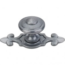 "Canterbury Cabinet Knob (1-1/4"") - Pewter Light (M30) by Top Knobs"