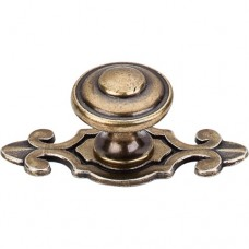 "Canterbury Cabinet Knob (1-1/4"") - German Bronze (M31) by Top Knobs"