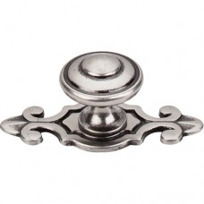 "Canterbury Cabinet Knob (1-1/4"") - Pewter Antique (M464) by Top Knobs"