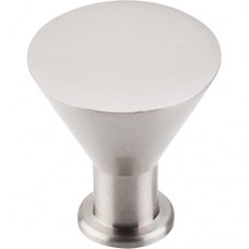 "Cocktail Cabinet Knob (1-3/16"") - Brushed Satin Nickel (M585) by Top Knobs"