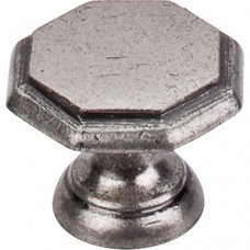 "Devon Cabinet Knob (1-1/4"") - Pewter Antique (M6) by Top Knobs"