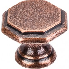 "Devon Cabinet Knob (1-1/4"") - Old English Copper (M7) by Top Knobs"