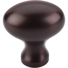 "Egg Cabinet Knob (1-1/4"") - Oil Rubbed Bronze (M750) by Top Knobs"