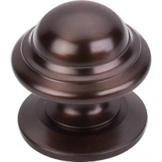 """Empress Cabinet Knob (1-3/8"""") - Oil Rubbed Bronze (M768) by Top Knobs"""