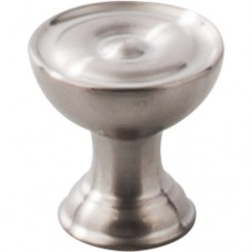 """Stainless Cabinet Knob (1"""") - Brushed Stainless Steel (SS42) by Top Knobs"""